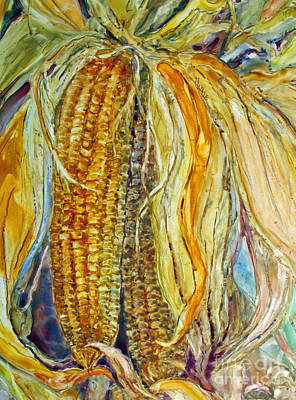 Painting - Autumn Harvest by Louise Peardon
