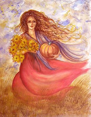 Autumn Harvest Art Print by Sheri Lauren Schmidt