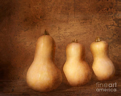 Autumn Harvest Still Life Art Print by Kathi Mirto