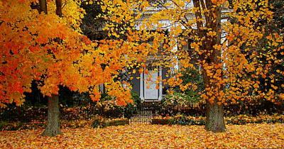 Autumn Homecoming Art Print
