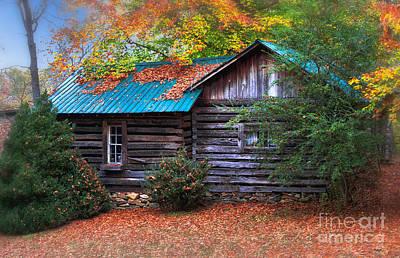 Photograph - Autumn Homestead by Scott Hervieux