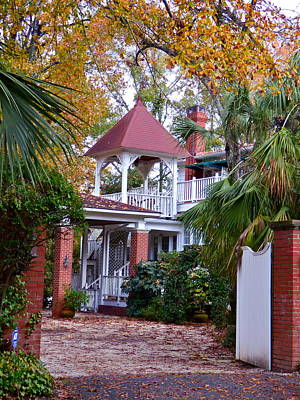 Photograph - Red Top Estate In Aiken Sc by Jean Wright