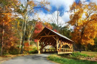 Autumn In Auburn Print by Lori Deiter