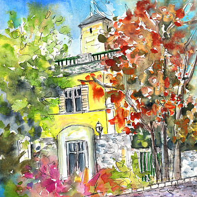 Painting - Autumn In Bergamo 02 by Miki De Goodaboom