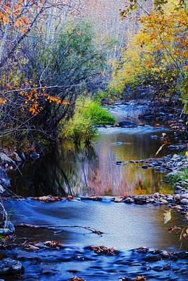 Autumn In Boise Idaho Art Print by Vishwanath Bhat