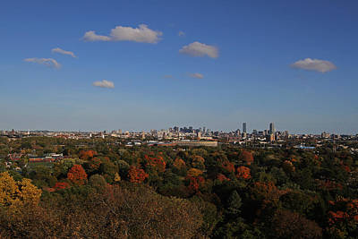 Great Cities Universities Photograph - Autumn In Boston by Juergen Roth