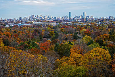 Photograph - Autumn In Boston by Toby McGuire