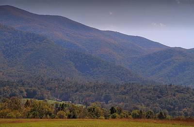 Autumn In Cades Cove Tennessee Art Print