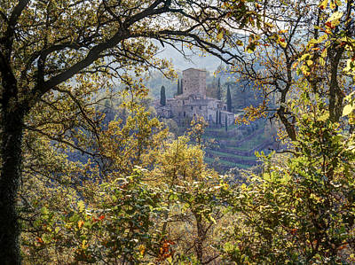 Autumn In Chianti Art Print by Eggers Photography
