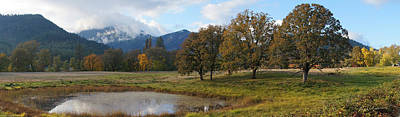 Photograph - Autumn In Evans Valley by Mick Anderson