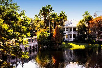 Digital Art - Autumn In Florida by Thomas Woolworth