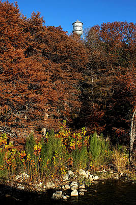 Photograph - Autumn In Gruene by Judy Vincent