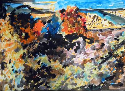 Painting - Autumn In Israel by Esther Newman-Cohen