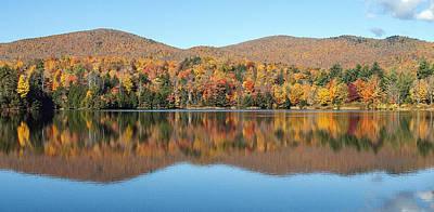 Autumn In Killington Vermont Art Print by Bruce Neumann
