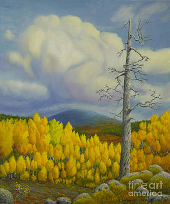 Peaceful Places Painting - Autumn In Lapland by Veikko Suikkanen