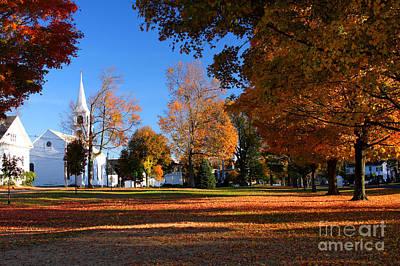 Autumn In Massachusetts Art Print