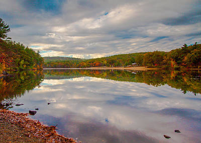 Photograph - Autumn In New England by Brian MacLean