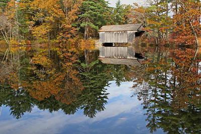 Autumn In New England Art Print by John Babis