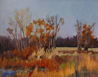 Painting - Autumn In Ohio by Barbara Jones
