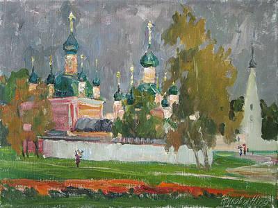 Antique Maps - Autumn in Pereslavl by Juliya Zhukova