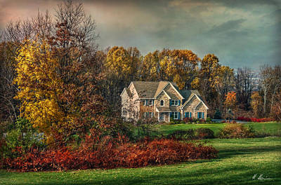 Photograph - Autumn In The Quaker State by Hanny Heim