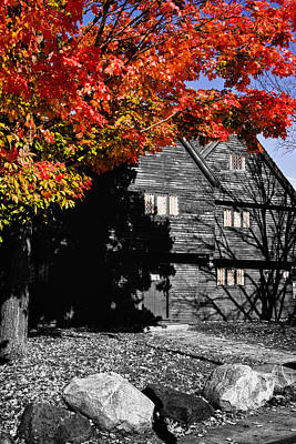 Photograph - Autumn In Salem by Jeff Folger