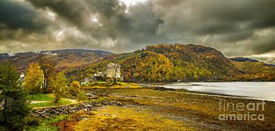Photograph - Autumn In Scotland In Dornie II by Lilianna Sokolowska