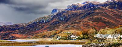 Photograph - Autumn In Scotland In Dornie by Lilianna Sokolowska