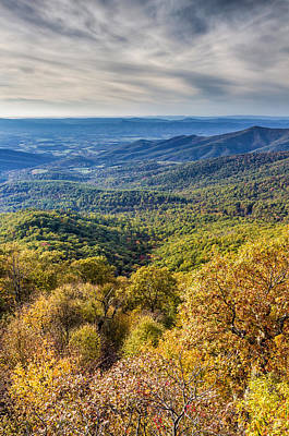 Photograph - Autumn In Shenandoah National Park by Pierre Leclerc Photography