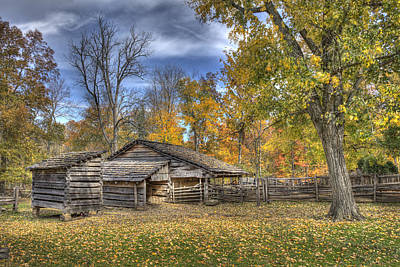 Art Print featuring the photograph Autumn In Southern Indiana by Wendell Thompson