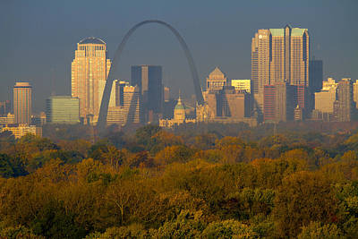 Photograph - Autumn In St Louis by Garry McMichael