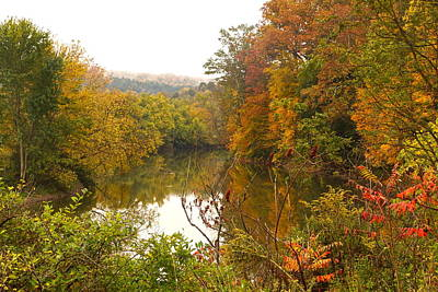 Photograph - Autumn In The Butternut Valley-five by Byron Varvarigos