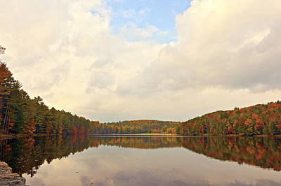 Photograph - Autumn In The Butternut Valley-four by Byron Varvarigos