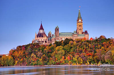 Autumn In The Capital Of Canada Original by Denis Tangney Jr