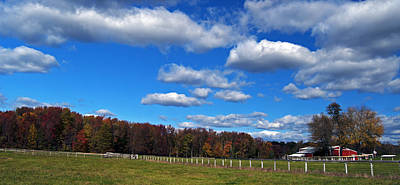 Photograph - Autumn In The Country by Elsa Marie Santoro