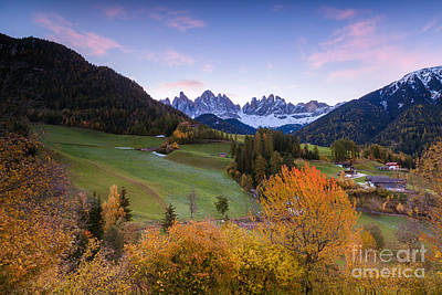 Maddalena Photograph - Autumn In The Dolomites Mountains - Italy by Matteo Colombo