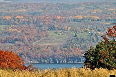 Autumn In The Finger Lakes Art Print
