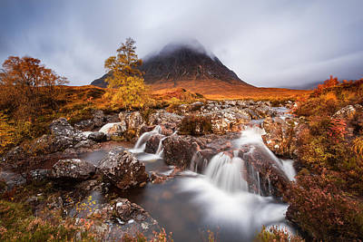 Scotland Wall Art - Photograph - Autumn In The Glencoe by Luigi Ruoppolo