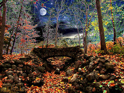 Autumn In The Meadow Art Print by Michael Rucker