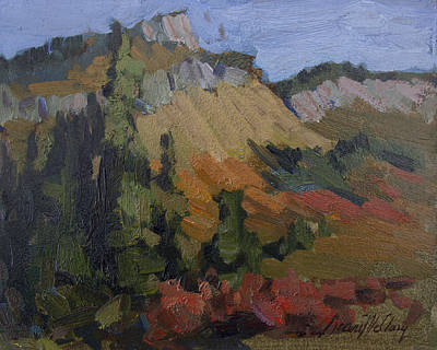 Painting - Autumn In The Mountains by Diane McClary