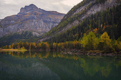 Switzerland Photograph - Autumn In The Mountains by Dominique Dubied