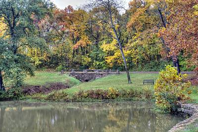 Photograph - Autumn In The Park by Deb Buchanan
