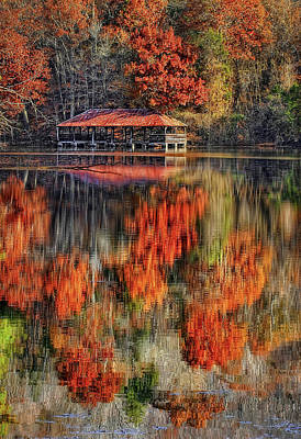Leaf Photograph - Autumn In The Smokey's by Marcia Colelli