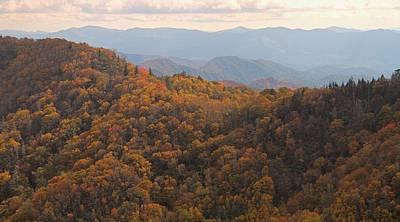 Autumn In The Smoky Mountains Art Print