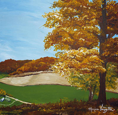 Painting - Autumn In The Valley by Monica Veraguth