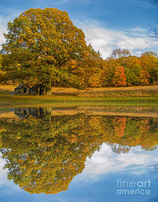 Photograph - Autumn In Valley Forge 3 by Rima Biswas