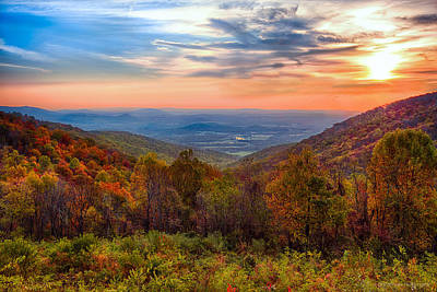 Autumn In Virginia Art Print by Phil Abrams