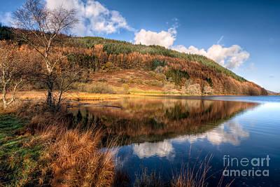 Llanrwst Digital Art - Autumn In Wales by Adrian Evans