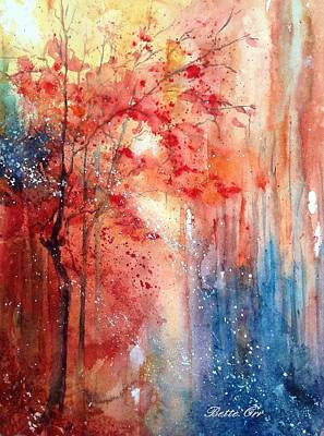 Painting - Autumn Intrigue by Bette Orr