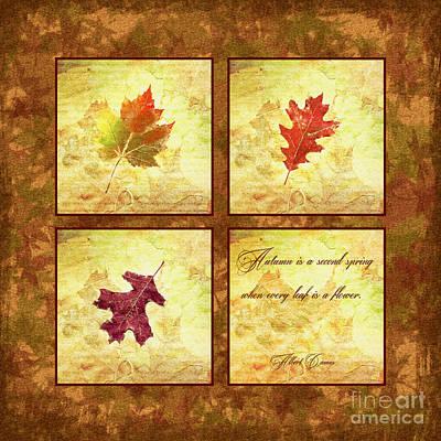Digital Art - Autumn Is A Second Spring by Olga Hamilton